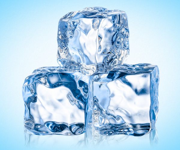 Eiswürfelprodukte